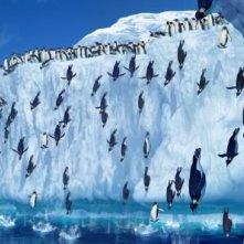 I protagonisti del film Happy Feet