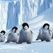I teneri protagonisti del film Happy Feet