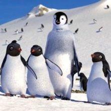 I pinguini del film Happy Feet