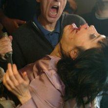 Dario Argento in una scena del film La terza Madre