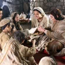 Keisha Castle-Hughes in una scena del film Nativity