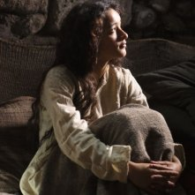 Keisha Castle-Hughes in una immagine di Nativity