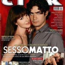 Riccardo Scamarcio e Monica Bellucci su una copertina di Ciak dedicata a  Manuale D'Amore 2