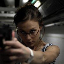 Gabriella Pession in una scena del film TV Rapidamente