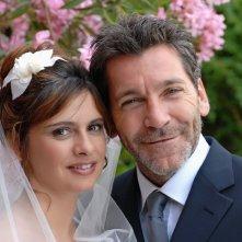 Rodolfo Corsato e Debora Caprioglio in una scena del film Morte di un confidente