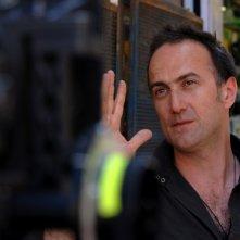 Stefano Sollima sul set del film Il covo di Teresa