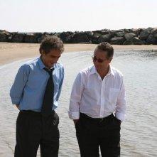 Sergio Rubini e Paolo Bonolis in una scena di Commediasexi