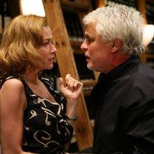 Michele Placido e Stefania Rocca in una scena di Commediasexi