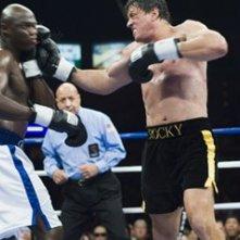 Sylvester Stallone e Antonio Tarver sul ring in Rocky Balboa