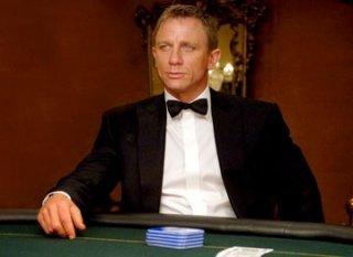 Craig in una scena del film Casino Royale