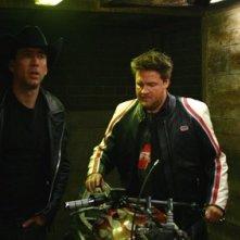 Cage in una scena di Ghost Rider