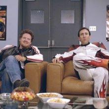 Nicolas Cage in una scena del film Ghost Rider