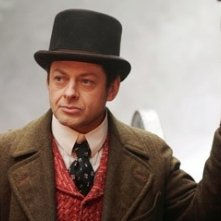 Andy Serkis in una scena di 'The Prestige'