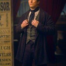 Christian Bale in una scena di 'The Prestige' di Nolan