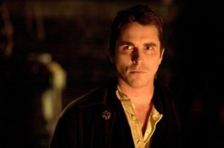 Christian Bale in una scena di 'The Prestige'