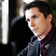 Il fascinoso Christian Bale in una scena di 'The Prestige'
