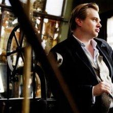 Christopher Nolan sul set di 'The Prestige'