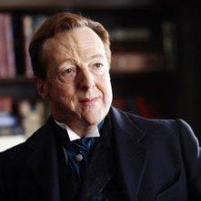 Edward Hibbert in una scena di 'The Prestige'
