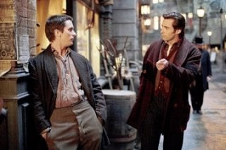 Hugh Jackman e Christian Bale in una scena del film 'The Prestige'