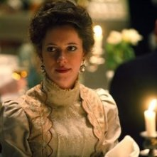 Rebecca Hall in una scena di 'The Prestige'