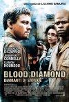 La locandina italiana di Blood Diamond