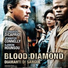 La locandina italiana di Blood Diamond