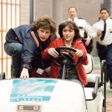Quinn Shepard e Dyllan Christopher in una scena del film Mi sono perso il Natale