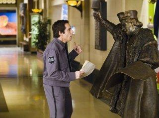 Ben Stiller è il custode nel film Una notte al museo