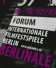 Berlinale 2007: il manifesto della sezione Forum.