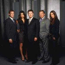 Un'immagine promozionale di Boston Legal
