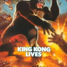 La locandina di King Kong 2