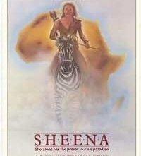 La locandina di Sheena, regina della giungla