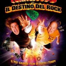 La locandina italiana di Tenacious D e il destino del rock