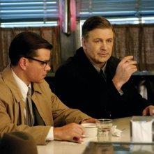 Matt Damon e Alec Baldwin in una scena del film The Good Shepherd
