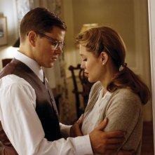 Matt Damon e Angelina Jolie in una scena del film The Good Shepherd - L'ombra del potere