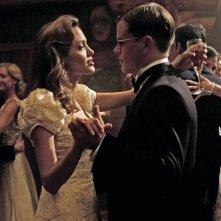 Matt Damon e Angelina Jolie in una scena del film The Good Shepherd