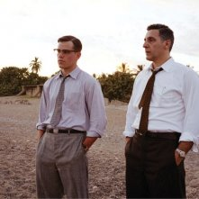 Matt Damon e John Turturro in una scena del film The Good Shepherd