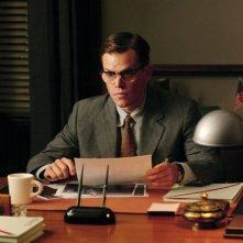 Matt Damon in una scena del film The Good Shepherd