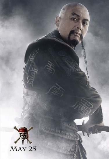 Chow Yun-Fat in un'immagine promo di Pirates of the Caribbean: At Worlds End