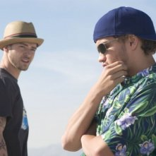 Emile Hirsch e Justin Timberlake in una scena del film Alpha Dog
