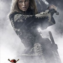 Keira Knightley in un'immagine promo di Pirates of the Caribbean: At Worlds End