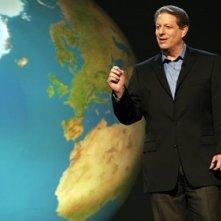 Al Gore in una scena del documentario Una scomoda verità