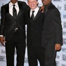 Jamie Foxx, Bill Condon e Eddie Murphy ai Golden Globes 2007