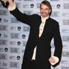 Jeremy Irons premiato per Elizabeth I ai Golden Globes 2007