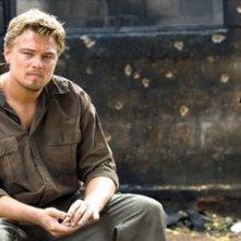 Leonardo DiCaprio in un'immagine del film Blood Diamond - Diamanti di sangue