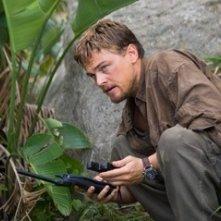 Leonardo DiCaprio in una scena del film Blood Diamond - Diamanti di sangue