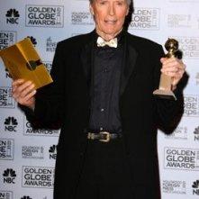 l'attore e regista Clint Eastwood premiato per Letters from Iwo Jima ai Golden Globes 2007