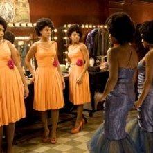 Beyoncé Knowles, Anika Noni Rose e Jennifer Hudson in una scena di Dreamgirls