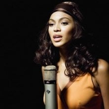 Beyoncé Knowles in una scena di Dreamgirls