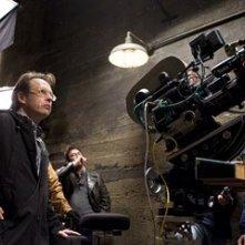 Bill Condon sul set di Dreamgirls